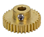 Actobotics pinion gear.